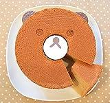 未体験の柔らかさ・・・!究極のノンオイルシフォンケーキ(クマ/バナナ味)
