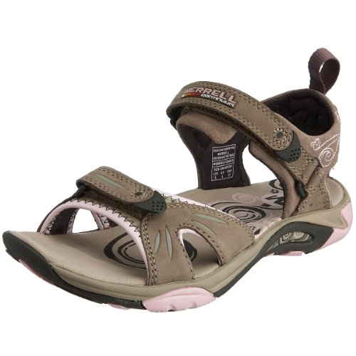 Merrell Women's Siren Strap Fashion Sandals  Brown/Pink  9 UK