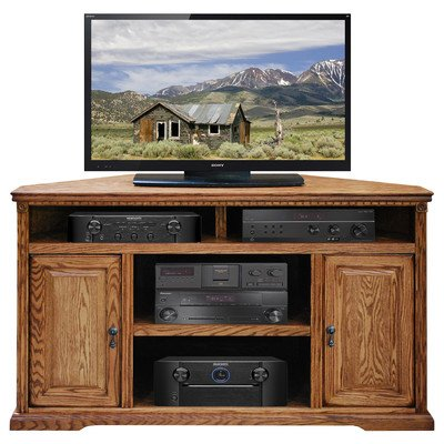 Legends Scottsdale 56 in. Corner TV Cart - Rustique