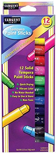 sargent-art-93-2112-12ct-assorted-tempera-paint-stick-pack