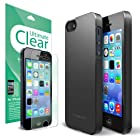 RINGKE SLIM® Apple iPhone 5 / 5S Case [SF Matte Black] (NEW Release) VALUE COMBO DEAL Get A FREE Premium Ultimate Clear Plus Screen Protector + 1 Premium Hard Case for Apple iPhone 5S Case / 5 Case [AT&T, Verizon, Sprint, Unlocked, ECO Package]