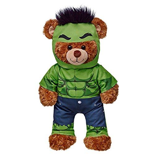 Build a Bear Workshop Hulk Teddy Bear Costume 2 pc. build a bear workshop promise pets pink dog leash