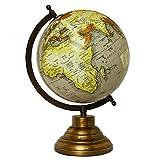 """Escritorio globo giratorio Mundial de la Tierra Geografía Globos de vector de la decoración del océano 13"""""""