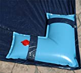 Robelle 3802-04 Corner Deluxe Water Tubes for Winter Pool Covers, 2-Feet by 2-Feet, Blue, 4-Pack