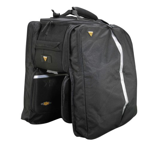 Best Review Of Topeak MTX Trunk Bag EXP Bicycle Trunk Bag with Rigid Molded Panels