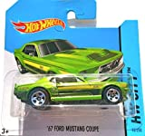 Hot Wheels 2014 HW City '67 FORD MUSTANG COUPE 93/250