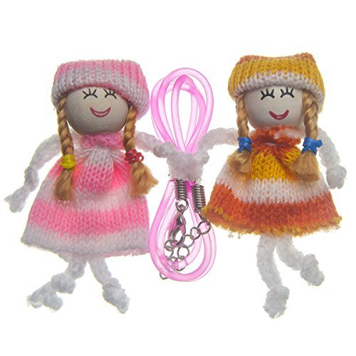 Capstyle Decoration Set Friends I - Handmade dolls Katie and Laura