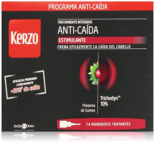 Kerzo Locion Anticaida 5Ml 14 Ampollas