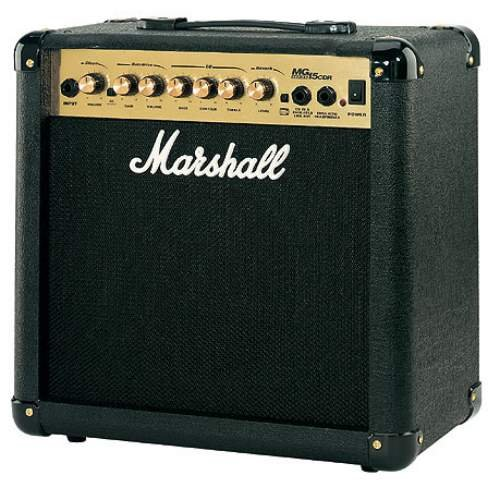 Marshall Mg15Cdr Combo Amplifier With Reverb Electric Guitar Combo Amp