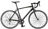 FUJI(フジ) SPORTIF 2.1 ロードバイク 2015年モデル サイズ:52 [18SPEED、アルミフレーム、700C] マットブラック/イエロー 15SPTFBK52