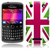 Blackberry Curve 9360 'Cool Britannia Green' (Designed by Creative Eleven) TPU Gel Skin / Case / Cover Part Of The Qubits Accessories Rangeby Qubits