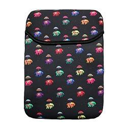 TEC Flying Elephants Black iPad Mini Sleeve