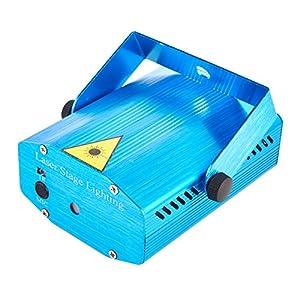 SainStyle R&G Mini Laser Projecteur Lumière + Trépied Bleu