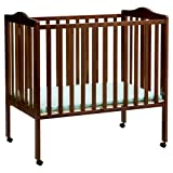 Delta Children Portable Mini Crib, Cherry