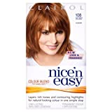 Nice 'N' Easy Permanent Hair Colour 108 Natural Golden Auburn