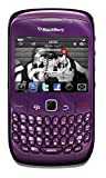 BlackBerry Curve 8520 Unlocked GSM Keyboard + Trackpad Cell Phone - Purple (Certified Refurbished)