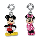 CHARM IT! Disney Mickey Mouse & Minnie Mouse Charm Set