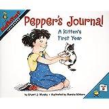 Pepper's Journal: A Kitten's First Year (MathStart 2)