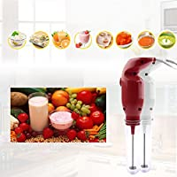 Texet HB-S120 25-Watt Mini Drink Mixer|Blender in White with Stainless Steel Blade