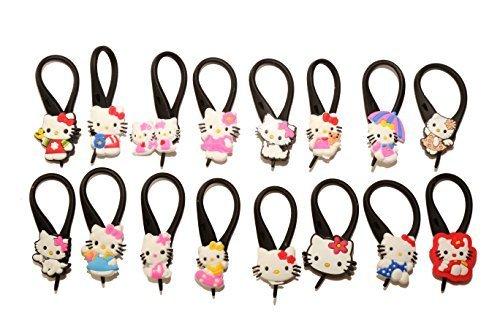 16 pezzi Hello Kitty Soft Zipper Pull Pendaglio di Zaino di Giacca