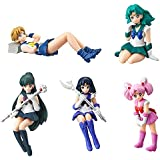 Gashapon Sailor Moon Desktop Mini Figure 2 Set