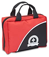 Ultra-Portable & Small 100-Piece First Aid Kit w/ Exclusive Items, Light, Durable Nylon Case, Space Saving Design - A Must Have Survival Kit!