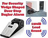 Gadget Hero's 120 dB Wedge Shaped Door Stop Buglar Alarm Block System For Security & Safety.