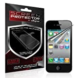 Skque® Apple® Iphone® 4g Anti Glare Screen protector for Apple® Iphone® 4 / 4G Series (3 pack)