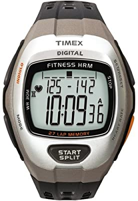 Timex Target Fitness Heart Rate Monitor Silver/Grey by Assist