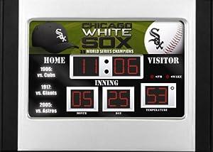 6.5x9 Scoreboard Desk Clock (NG)- Chicago White Sox