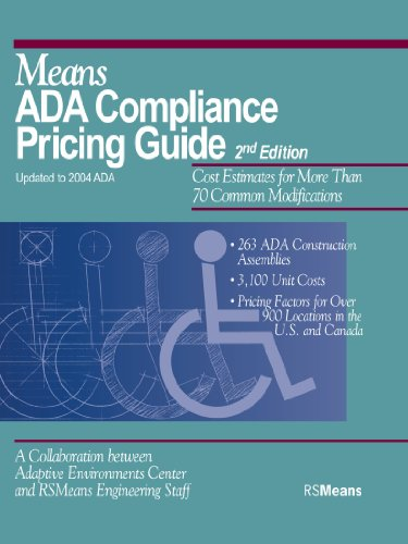 Means ADA Compliance Pricing Guide - RSMeans - RS-67310A - ISBN: 0876297394 - ISBN-13: 9780876297391