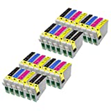28 Perfect Print Compatible T1816 Ink Cartridges for Epson Expression Home XP102 XP202 XP212 XP215 XP205 XP30 XP302 XP305 XP312 XP315 XP402 XP412 XP415 XP405 XP405WH, 10x T1811, 6x T1812, 6x T1813 and 6x T1814