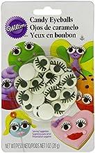 Wilton 710-2223 Icing Candy Decorating Stencil Eyeball with Eyelash