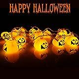 16 LED Pumpkin String LED Light for Halloween Bar Festival Party Decoration