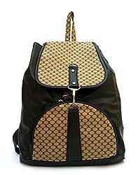Vintage Stylish Ladies Handbag Backpac Black(bag 165)