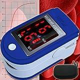 Pulsoxymeter Pulse Oxymeter EKG Oximeter Pulsmesser Pulsuhr Herzschlag Sauerstoffsättigung Sp02