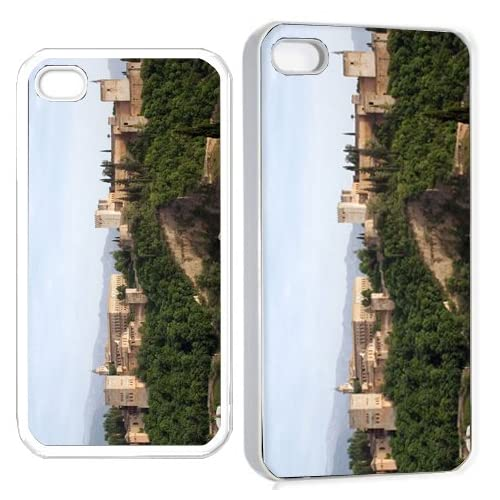 alhamba test iPhone Hard Case 4s White Cell Phones