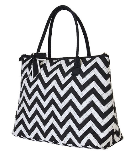 Chevron Print Diaper Bag