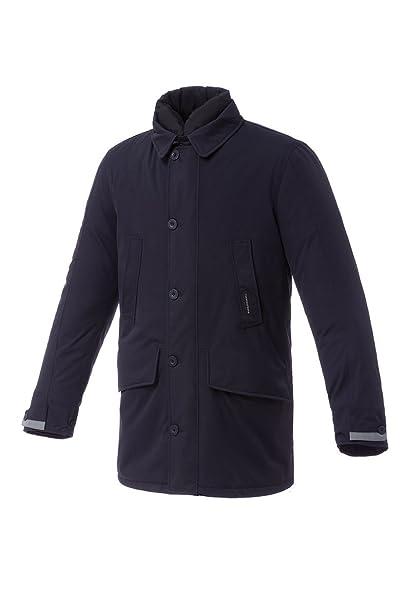 Tucano urbano 8906MF021B8 bENJAMIN-respirant, coupe-vent et étanche 3/4 length padded jacket-veste-homme-bleu-taille xXXL
