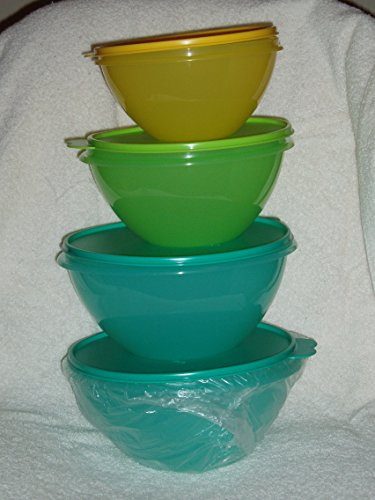 Tupperware Wonderlier Bowl Set 4-pcs