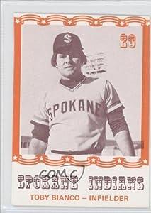 Toby Bianco (Baseball Card) 1976 Spokane Indians Caruso #20 by Spokane Indians Caruso