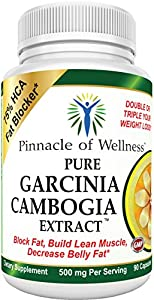 "75% HCA Pure Garcinia Cambogia Extract Diet Pills - Best Weight Loss Supplement Product That Works for Men & Women - Ultra Premium All Natural Appetite Suppressant with Potassium & Calcium which is Clinically Proven relevant for absorption - This easy to use 1500 mg daily Fat Blocker Fruit with Hydroxycitric Acid will help you Lose Belly Fat Fast - BONUS ""Must Read"" Natural Weight Loss Revealed eBook with Your Order! A $37 Value Absolutely FREE - Buy with Confidence - 90-day Complete Satisfaction Money Back Triple Guarantee."