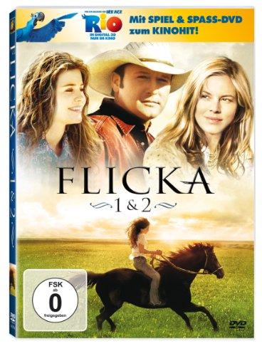 Flicka - Freiheit. Freundschaft. Abenteuer. / Flicka 2 - Freunde fürs Leben (+ Rio Activity Disc) [2 DVDs]