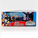 Marvel Superhero Squad Hero Helicopter with Figures - Captain America and Thor