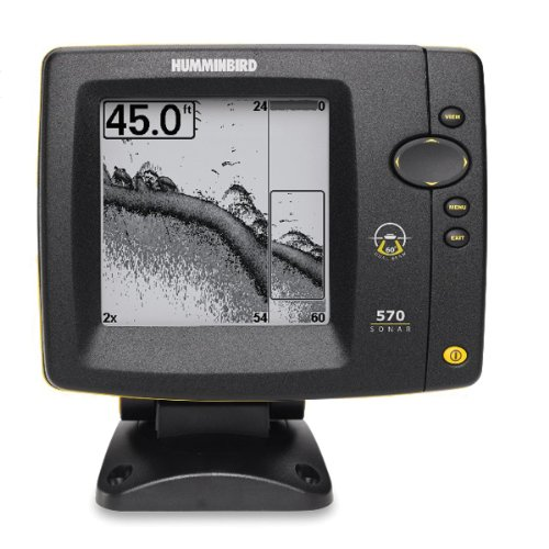 Humminbird 570 Portable 5-Inch Waterproof Fishfinder and Dual-Beam Transducer