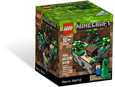 Minecraft Was The Fastest Growing Online Game In 2012 - Lego Minecraft 21102 by LEGO