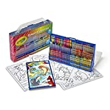 Crayola ~ 98 Piece Special Effects Crayon Collection ~ with Stadium Case and Built In Sharpener