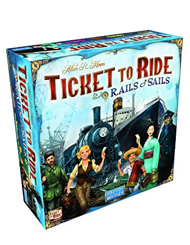 Ticket To Ride Rails & Sails Board Game (Ticket Ride Trains compare prices)