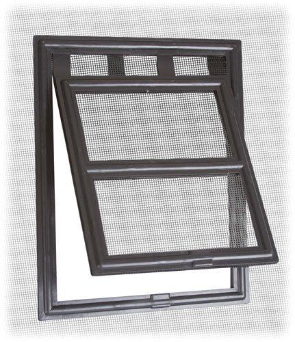 Two-Way Screen Door Pet Access Snap Flap front-1028097