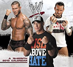2013 WWE Wall Calendar